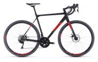 Велосипед CUBE CROSS RACE (black´n´red) 2020 56cm(388100-56)